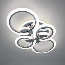 Светодиодная акриловая люстра с пультом LD3584-4 CR