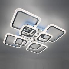 Светодиодная акриловая люстра с пультом  LD3688-8CR+RGB