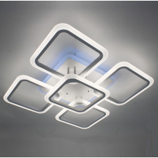 Светодиодная акриловая люстра с пультом LD3689-5+RGB