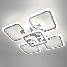 Светодиодная акриловая люстра с пультом LD3689-5 CR