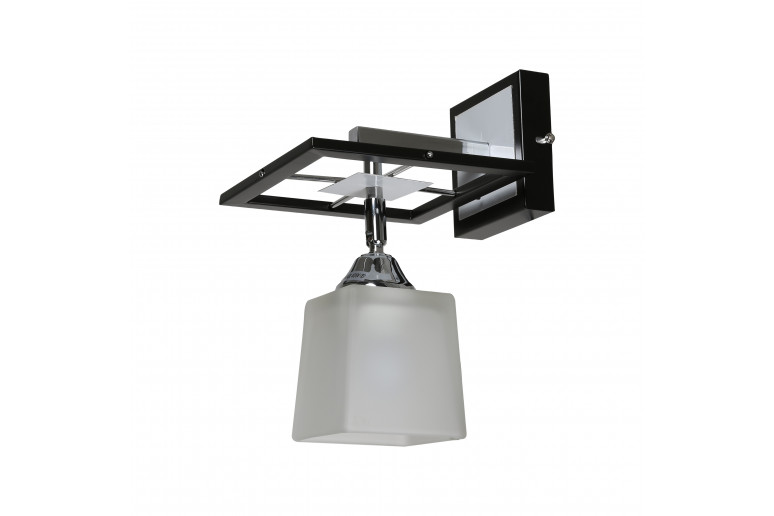 Светильник настенный MB 11705-1W BK+CR+WT