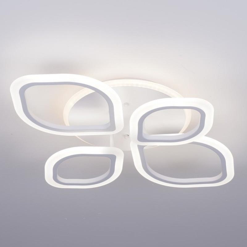 Фото Светодиодная акриловая люстра с пультом 3398-4