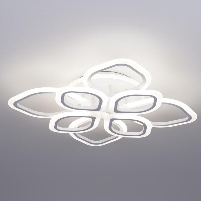Фото Светодиодная акриловая люстра с пультом 3398-8