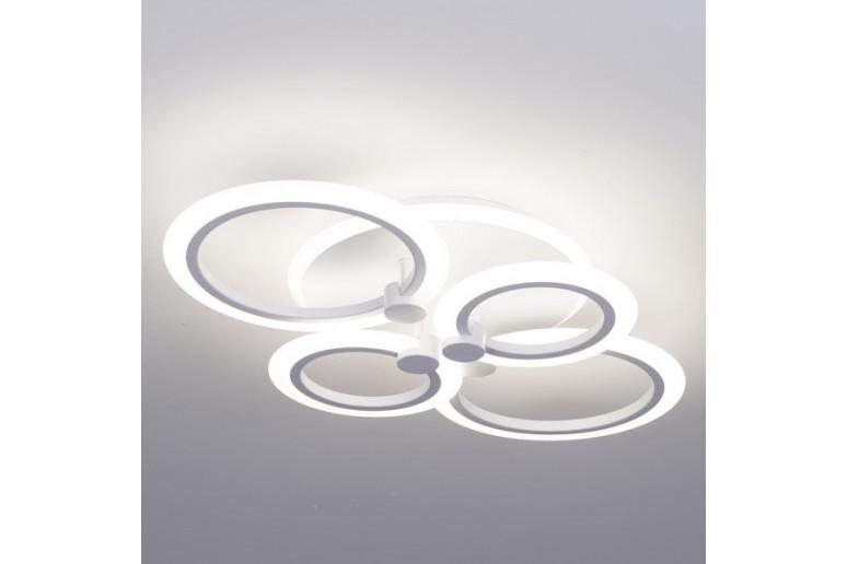 Светодиодная акриловая люстра с пультом 3584-4