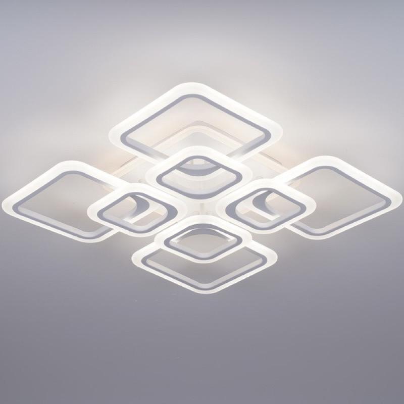 Фото Светодиодная акриловая люстра с пультом 3688-8