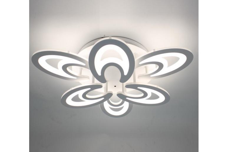 Светодиодная акриловая люстра с пультом 3820-6