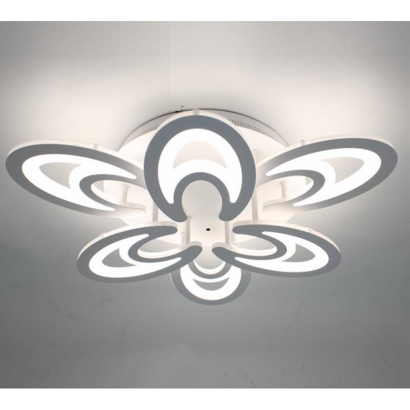 Фото Светодиодная акриловая люстра с пультом 3820-6
