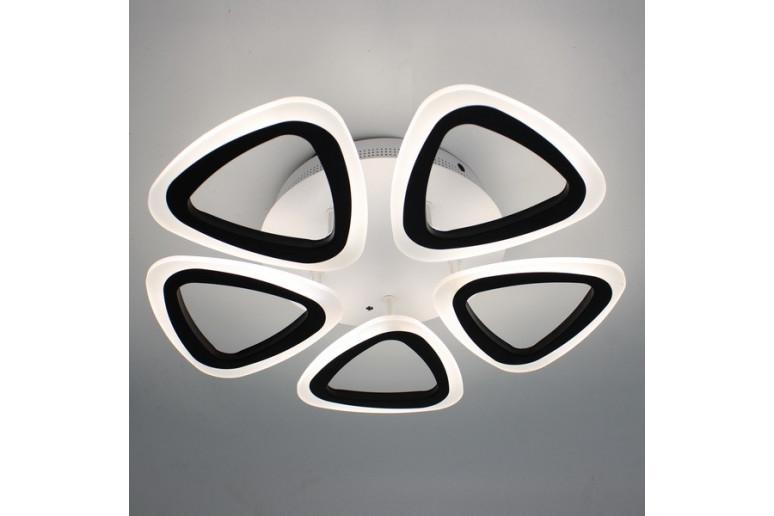 Светодиодная акриловая люстра с пультом 3825-5