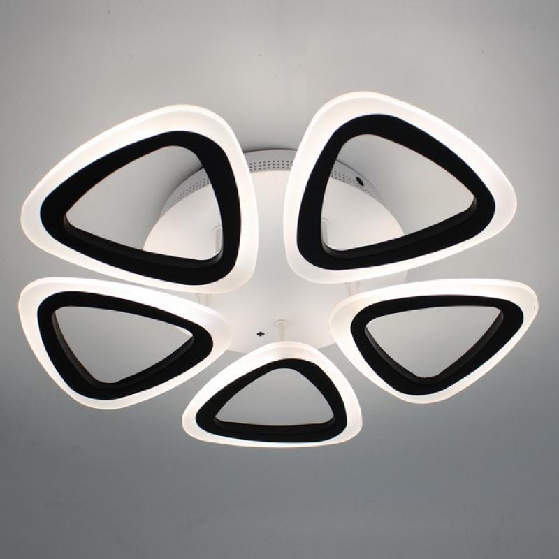 Фото Светодиодная акриловая люстра с пультом 3825-5