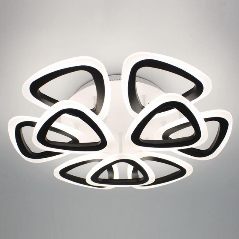 Фото Светодиодная акриловая люстра с пультом 3825-9