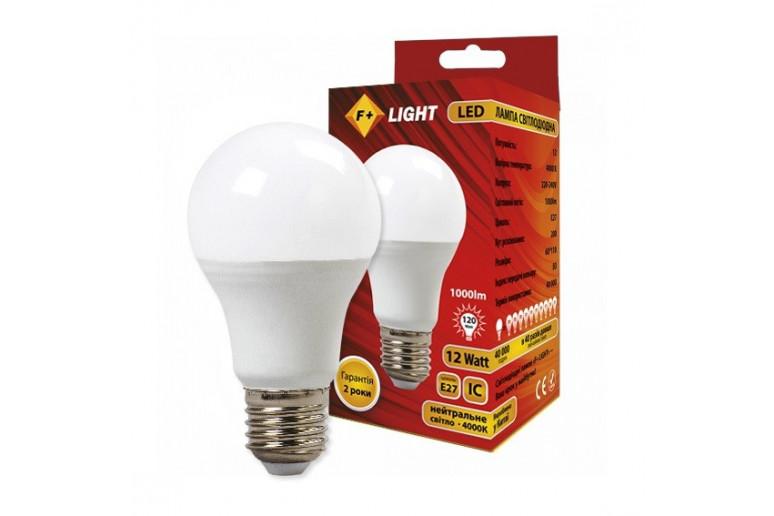 Светодиодная лампа A60T 12W 4000K IC