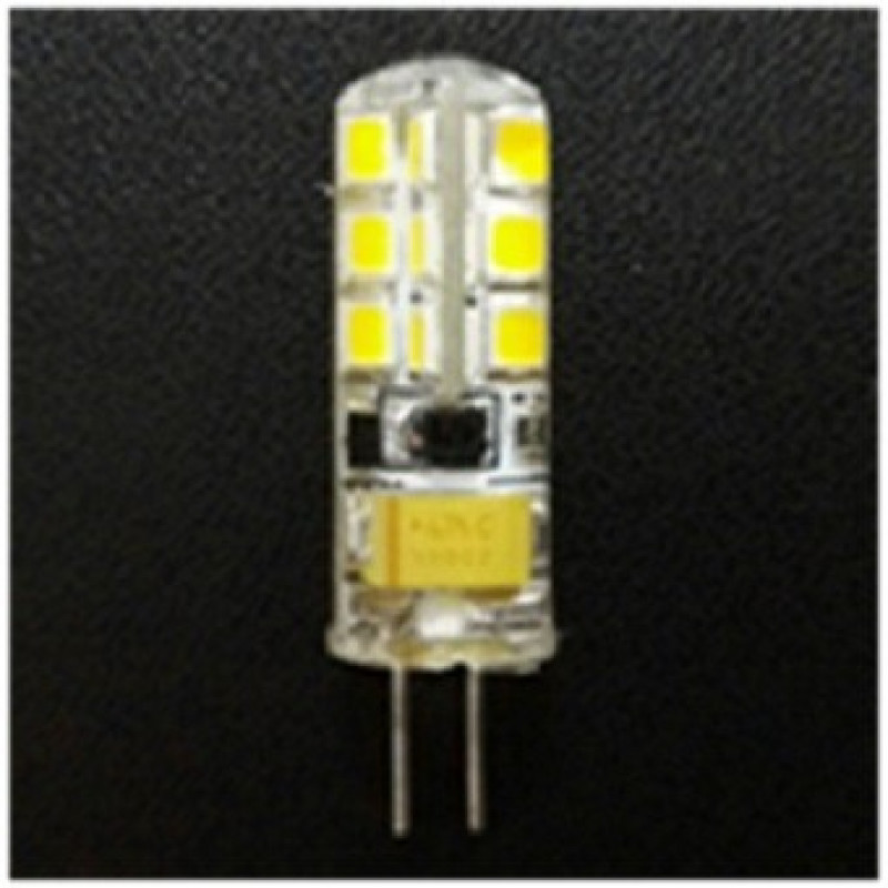 Фото Светодиодная лампа G4-Si2835*24 ACDC12V 2W 6000K-7500K