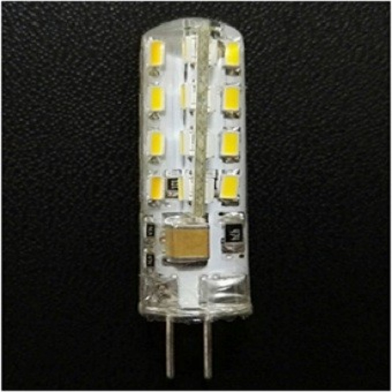 Фото Светодиодная лампа G4 Si3014*24 AC220V 2.5W 2900K-3500K