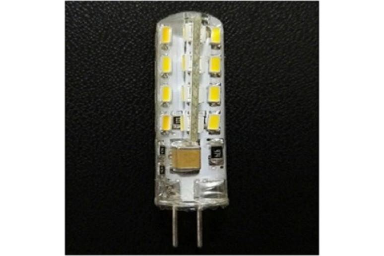 Светодиодная лампа G4 Si3014*24 AC220V 2.5W 6000K-7500K