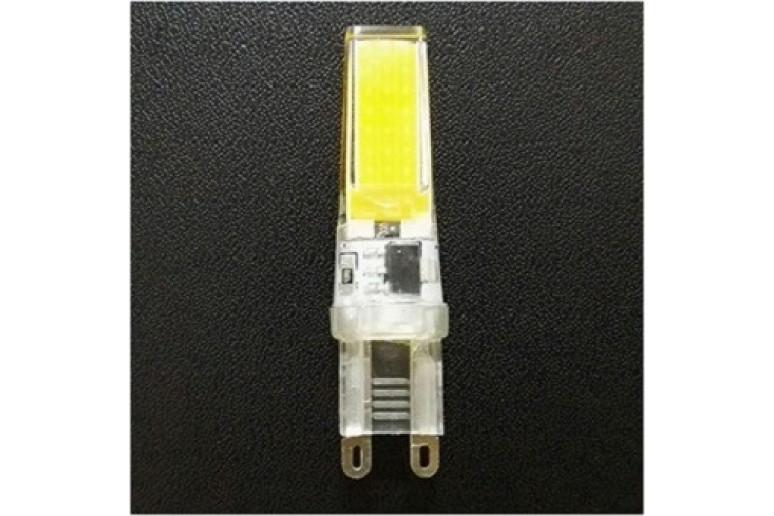 Светодиодная лампа G9 COB2508 AC220V 3W 2900K-3500K