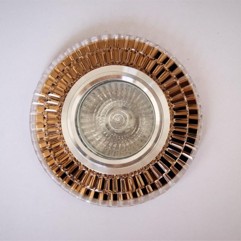 Фото Точечный светильник LB1912G с LED подсветкой