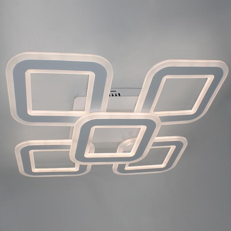 Фото Светодиодная акриловая люстра с пультом LD4331-5