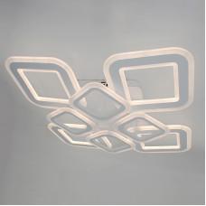 Светодиодная акриловая люстра с пультом LD4332-4+4