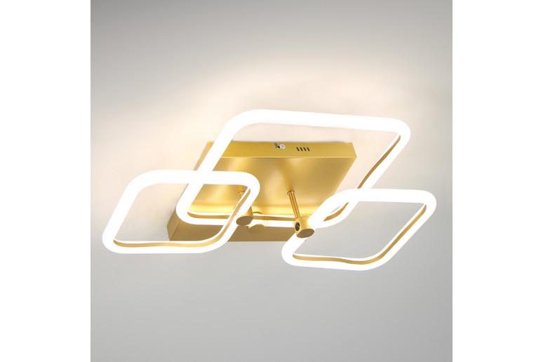 Светодиодная акриловая люстра с пультом LD4348