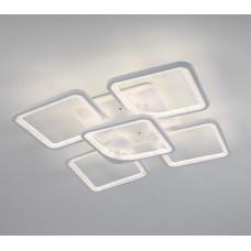 Светодиодная акриловая люстра с пультом LD4162-5