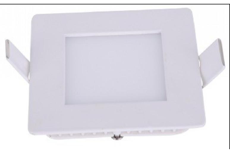 Светодиодный светильник 12W-SQ