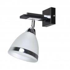 Светильник настенный MB 2606-1W BK+CR+WT