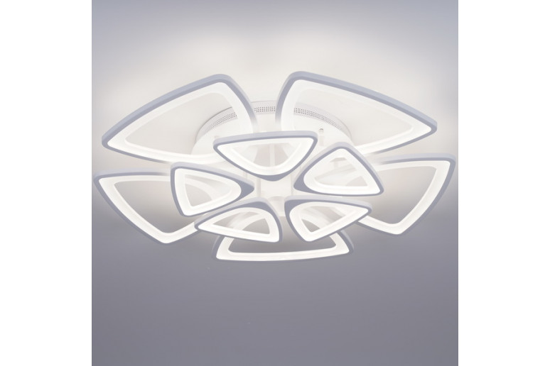 Светодиодная акриловая люстра с пультом LD3575-10